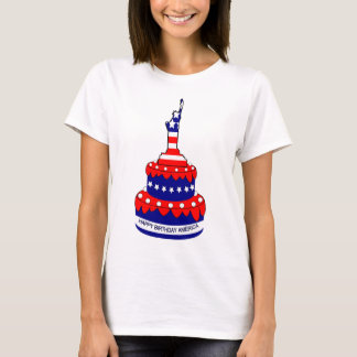 happy birthday America,liberty,freedom T-Shirt