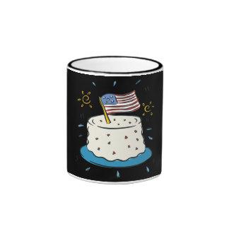 Happy Birthday America Coffee Mug
