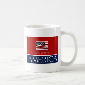 Happy Birthday America Coffee Mugs