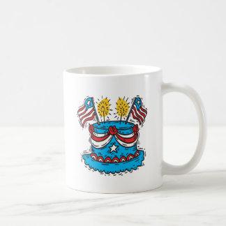 Happy Birthday America Mugs