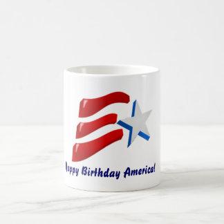 Happy Birthday America! Coffee Mug