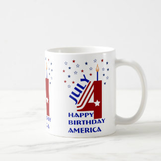 Happy Birthday America Mug