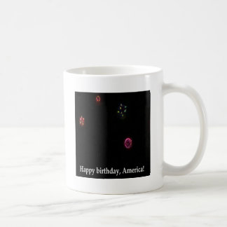 Happy birthday, America! Coffee Mugs