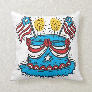Happy Birthday America Pillow