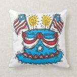 Happy Birthday America Pillows