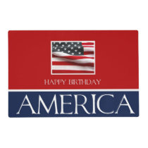 Happy Birthday America! Placemat