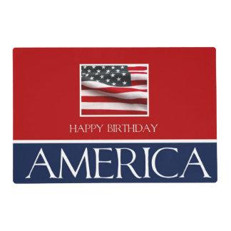 Happy Birthday America! Placemat