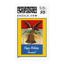 Happy Birthday, America! Postage