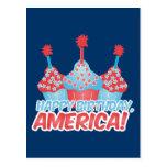 Happy Birthday, America Postcard