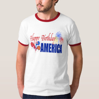Happy Birthday America Shirt