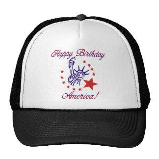 Happy Birthday America Trucker Hat