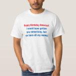 Happy Birthday America Tshirts
