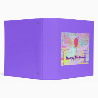 Happy Birthday and Best Wishes One Ballon Binder