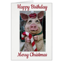 ***HAPPY BIRTHDAY AND MERRY CHRISTMAS*** SPECIAL U CARD