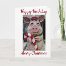 ***HAPPY BIRTHDAY AND MERRY CHRISTMAS*** SPECIAL U HOLIDAY CARD