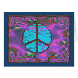 Happy Birthday and Peace Always Big Greeting Card