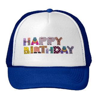 Happy Birthday Animals Trucker Hat