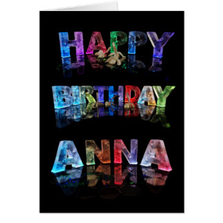 Happy Birthday Anna Card