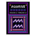 HAPPY BIRTHDAY AQUARIUS! CARDS
