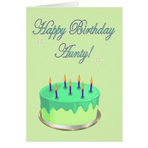 Happy Birthday Auntie Cake