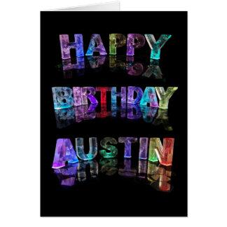 Happy Birthday Austin Card