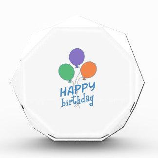 HAPPY BIRTHDAY ACRYLIC AWARD