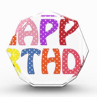 Happy Birthday Award