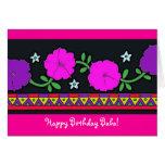 Happy Birthday Baba! Greeting Card