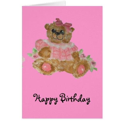 happy birthday baby girl Card | Zazzle