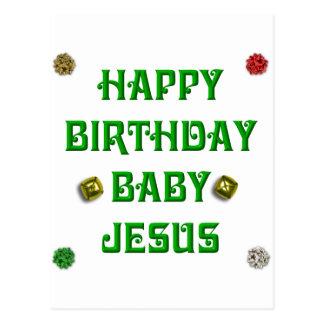 Happy Birthday Baby Jesus #1 Postcards