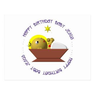 Happy Birthday Baby Jesus Post Card