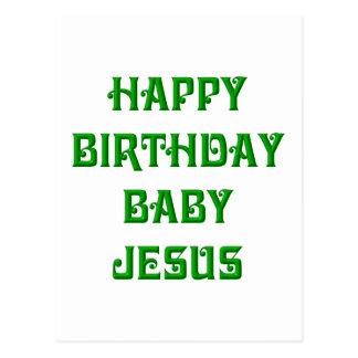 Happy Birthday Baby Jesus Postcards