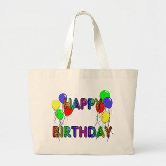 Happy Birthday Ballons D1 Tote Bag