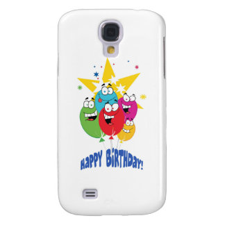 Happy Birthday Balloon Bunch Samsung Galaxy S4 Covers