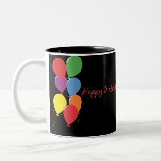 Happy Birthday Balloons Coffee Mug