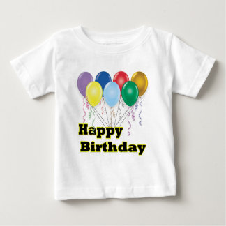 Happy Birthday Balloons D3 T-Shirt