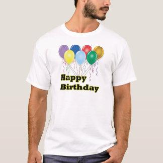 Happy Birthday Balloons D3 T-Shirt
