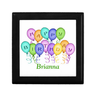 Happy Birthday Balloons Gift Box