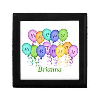Happy Birthday Balloons Gift Box