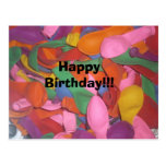 Happy Birthday balloons Post Cards
