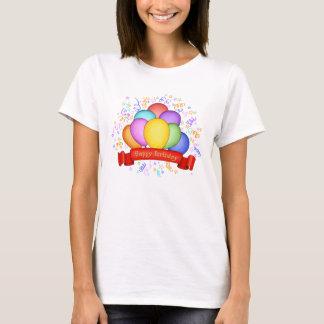 Happy Birthday Balloons Women's T-Shirt