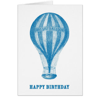 Happy Birthday Baloon Card