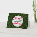"Happy Birthday Baseball Card<br><div class=""desc"">fun!</div>"