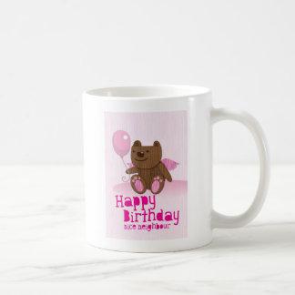 Happy birthday Bear Nice Neighbour Coffee Mug