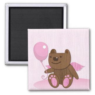 Happy Birthday Bear plain Magnet
