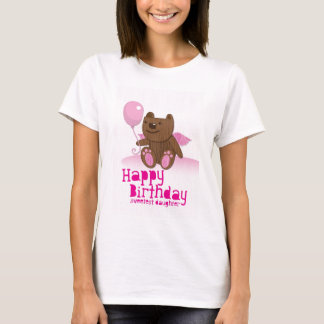 Happy Birthday Bear Sweetest Daughter! T-Shirt