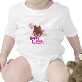 Happy Birthday Bear Sweetest Daughter! Baby Creeper