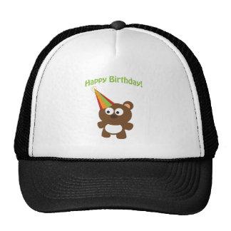 Happy Birthday! Bear Trucker Hat
