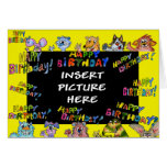 Happy Birthday - Beast Wishes Greeting Card