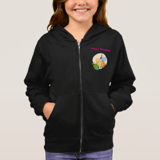 Happy Birthday Bee Girls Hoodie